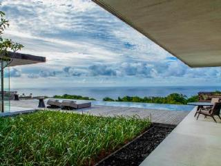 Elevated with dazzling coastal view Uluwatu Hillside Villa - serene grounds & pool - Pecatu vacation rentals