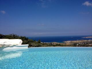 Stone made villa with private pool & stunning view - Naoussa vacation rentals