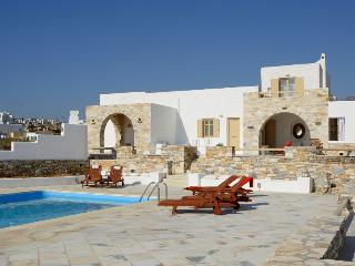 Beach front villa with pool-Book now get 40% discount - Naoussa vacation rentals