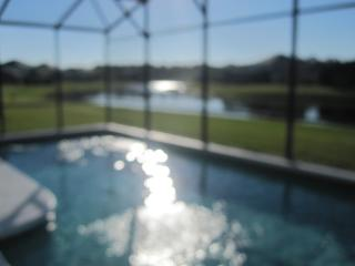 Executive Villa with Stunning Lakeviews & South Facing Pool and Spa / Jacuzzi - a dream vacation home - Kissimmee vacation rentals