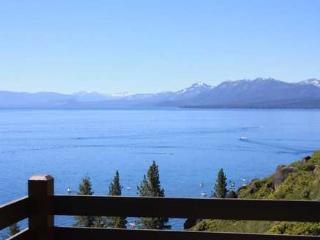 Jane's Lakeview pano views! Rocky Ridge, priv beach,pool - Lake Tahoe vacation rentals