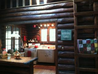 Lakefront cabin - Hawley vacation rentals
