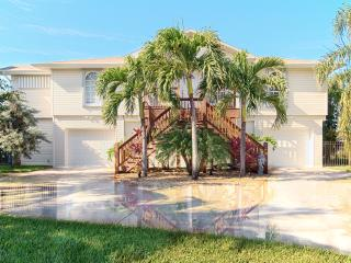 Walk-to-Beach Canal Key West Style Home - Naples vacation rentals