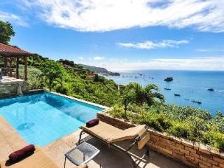 Ocean view villa Hurakan- calm and private with pool & daily maid - Colombier vacation rentals