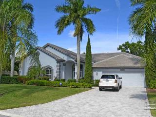 Beautiful single family pool home with golf course and lake views - Bonita Springs vacation rentals