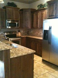 Beautiful kitchen equip with all your cooking and eating utensils. Granite counter tops and Stainless Steel appliances - # B13 Coral Springs Resort - Hurricane - rentals