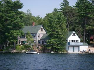 Lakefront Home with private dock on Great East Lake - 4 bedrooms with 2 baths - SMOKE FREE - Lakes Region vacation rentals