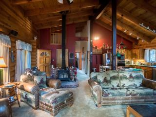 Shanks's Log Cabin nestled in the woods - Mariposa vacation rentals
