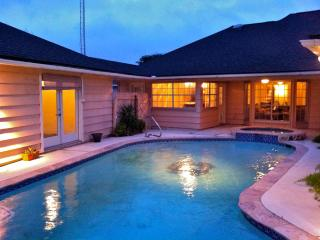 Home in Town with Private Pool and Hot Tub - Galveston vacation rentals