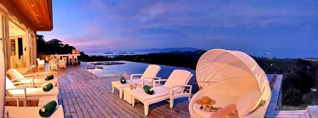 Villa Michaela, Luxury 5 Bedroom Panoramic Sea View Villa - Image 1 - Koh Samui - rentals