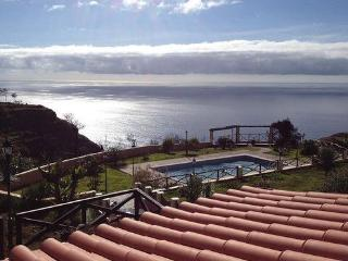Sea view and private pool 9*4m -  Plot with 1000 sqm fully fenced - PT-1075595-Ponta do Pargo - Madeira vacation rentals