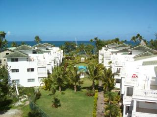 Brand new ocean view duplex in fabulous beachfront  location! - Las Terrenas vacation rentals