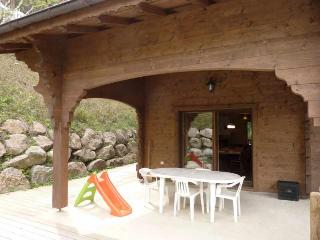**MORZINE CHALET WITH A PRIVATE SAUNA AND PATIO!** - Rhone-Alpes vacation rentals