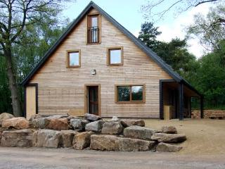 STANTON, family friendly, luxury holiday cottage, with hot tub in Ramshorn Wood Near Alton Towers, Ref 904180 - Oakamoor vacation rentals