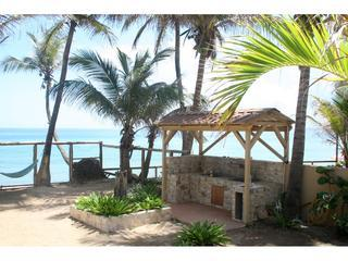 Double BBQ in Countyard - Beachfront  Apartments Sandy Beach (Pelican Point) - Rincon - rentals