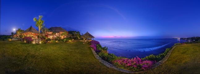 evening view - Sakova Villa 0204 Pecatu 5 Bedroom - West Sulawesi - rentals
