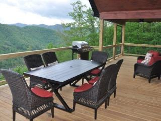 Smoky Mountain High - Deluxe 4 Bedroom with Incredible View - Bryson City vacation rentals