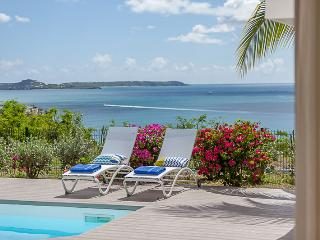 SEA DREAM...wonderful ocean and sunset views in Happy Bay, St Martin - La Savane vacation rentals