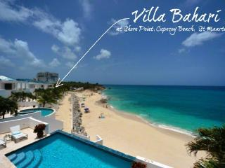 Bahari at Shore Pointe, Saint Maarten - Beachfront Property, Ocean View, Pool - Cupecoy vacation rentals