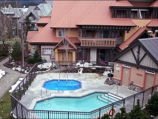 Common Area Outdoor Pool & Hot Tub - Short Walk to All Village Attractions (4061) - Mont Tremblant vacation rentals