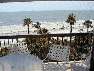 View from Balcony - Million Dollar Ocean View Villa in Palmetto Dunes - Hilton Head - rentals