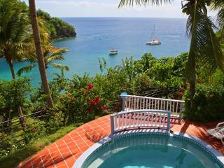 Ocean Cottage - Perfect Tropical Sunsets - Marigot Bay vacation rentals