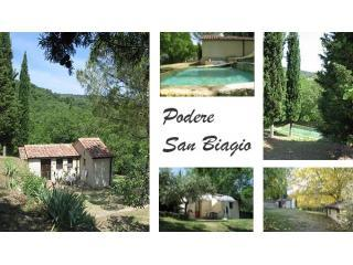 Small house in beautiful park with swimming pool - Bagni di San Filippo vacation rentals