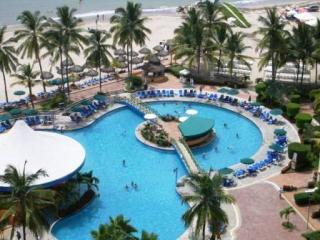 pool view - Casa Beata - 15th floor oceanfront condo with view - Puerto Vallarta - rentals