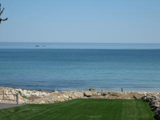 Oceanfront Home with rolling lawn to private beach - Plymouth vacation rentals
