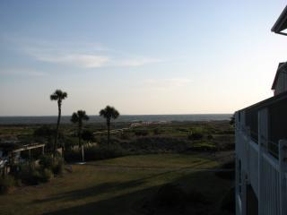 View from private deck - Beautiful Beach Condo on Unspoiled Harbor IslandSC - Harbor Island - rentals
