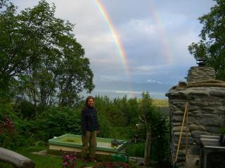 Rainbow over the Kachemak bay - Brigitte's Bavarian Bed Und Breakfast - Homer - rentals