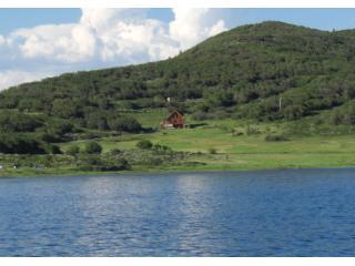 house from lake - Grand Mesa, at Vega Reservior borders State Park - Collbran - rentals