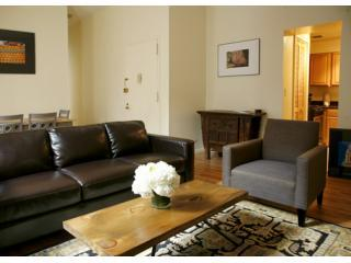 Living Room - E. Village Sunny, large 1BR - Manhattan - rentals