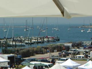 View of Farmer's Market from the Deck - Village Captains Home Gorgeous Ocean Views & Decks - Stonington - rentals