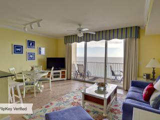 Tidewater 2BR/3BA+Bunk Rm PLATINUM Level, Ocean Front, Renovated, 12th Flr, 4 Bch Chrs OPEN FROM 8/2 *** - Panama City Beach vacation rentals