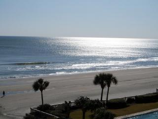 Actual View from Balcony.JPG - SeaWatch 2 BR Great Oceanview, Oct. Weeks $695 - Myrtle Beach - rentals
