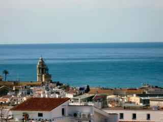 View from the terrace - Sitges Penthouse with private terrace and seaview. - Sitges - rentals