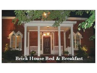 Front at Night - Brick House B&B - Our door is always open for you! - Westfield - rentals