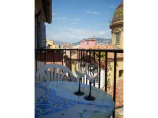 View from the balcony - Living in a Postcard:  Old Nice - Nice - rentals