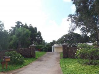 Private Driveway - Kula Glen Estate - 4 Bedroom Home - Kula - rentals