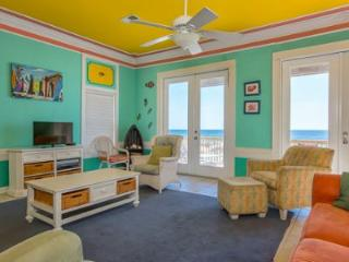 Get-A-Way to the Tropics w/spacious Gulf Front 5BR/4BA home w/ HUGE balcony, sleeps 14 - Gulf Shores vacation rentals