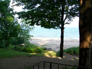 view from the back door - Beautiful Angola home on Lake Erie - Angola - rentals