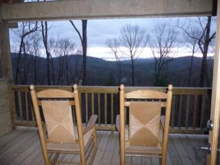PORCH VIEW Upstairs - Endless View  in Blue Ridge Pets and  Aska area. - Blue Ridge - rentals