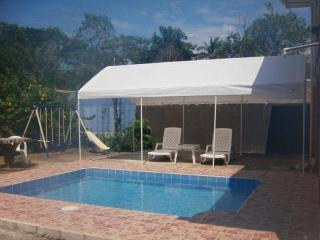 Dipping pool and covered patio - Ocean Front House - 15% September - Tarcoles - rentals