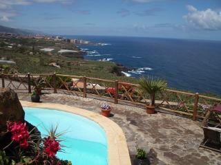 Villa with private pool and wonderful sea views - La Orotava vacation rentals