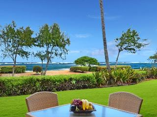 Beach FRONT GF  Closest to the sand!! SA $329 CALL NOW - Kapaa vacation rentals