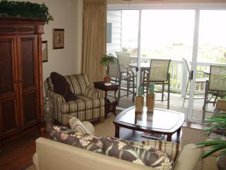 Living room 1.JPG - Oceanfront House with Oceanfront Pool! - Tybee Island - rentals
