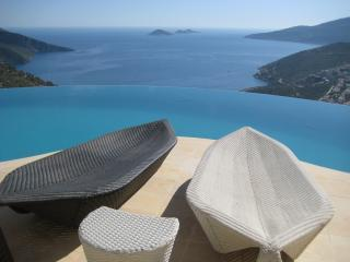 View from roof terrace - Pinara Villas, Kalkan, Turkey - Kalkan - rentals