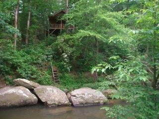 Hot tub cabin on large stream.No cleaning fee - Ellijay vacation rentals