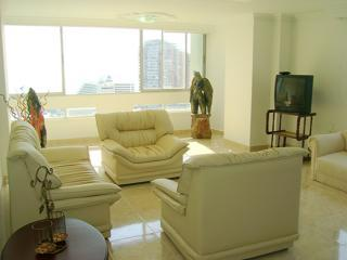 Living Room - Unbelievable View20thFloor FREE Airport Shuttle - Cartagena - rentals